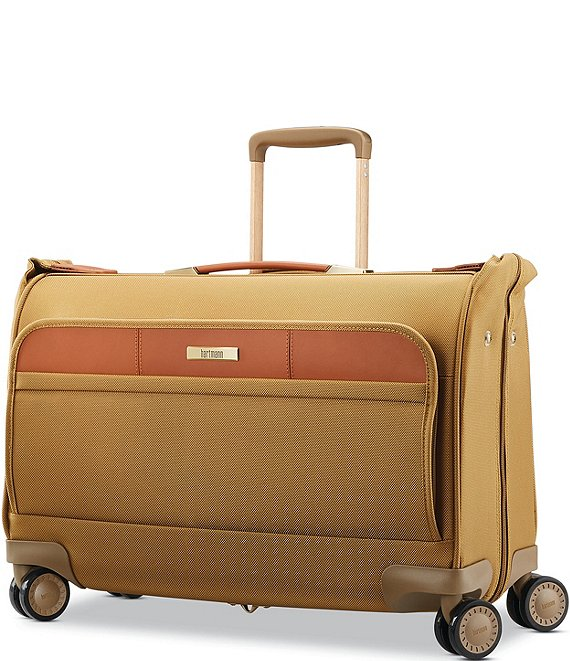 Color:Safari - Image 1 - Ratio Classic Deluxe 2 Carry On Spinner Garment Bag
