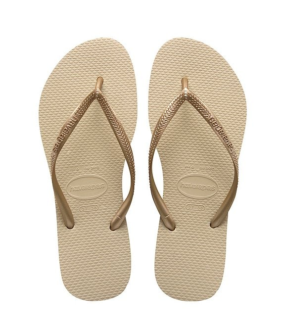 78660a46995 Havaianas Slim Metallic Flip-Flops