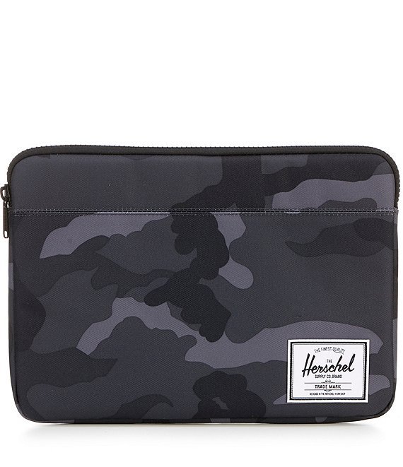 Color:Night Camo - Image 1 - Anchor Camoflauge 13#double; Laptop Sleeve