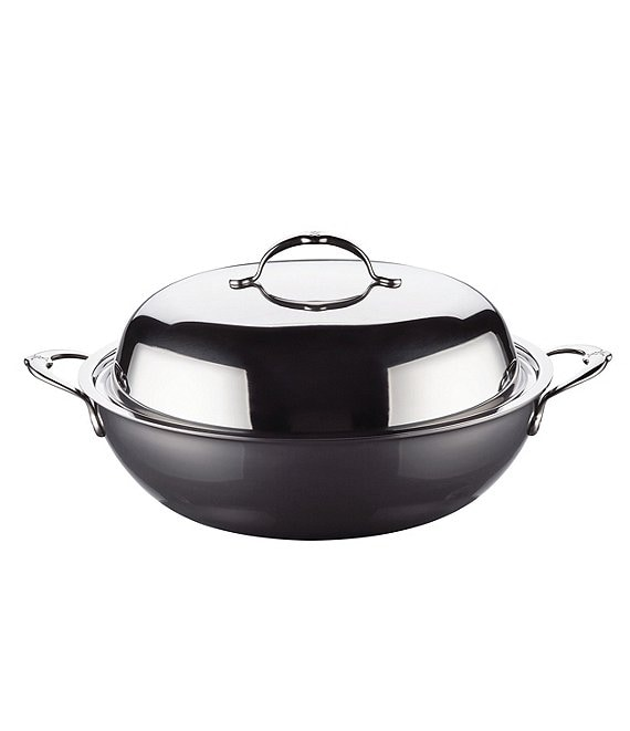 Color:Stainless Steel - Image 1 - NanoBond 14#double; Covered Wok