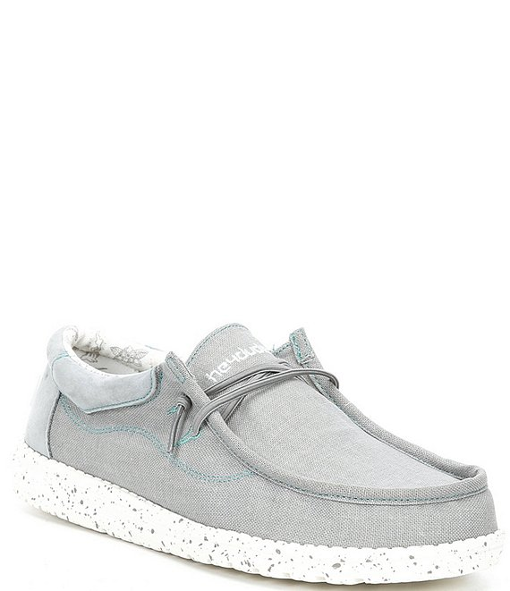 Color:Steel Grey - Image 1 - Men's Wally Flow Washable Slip-Ons