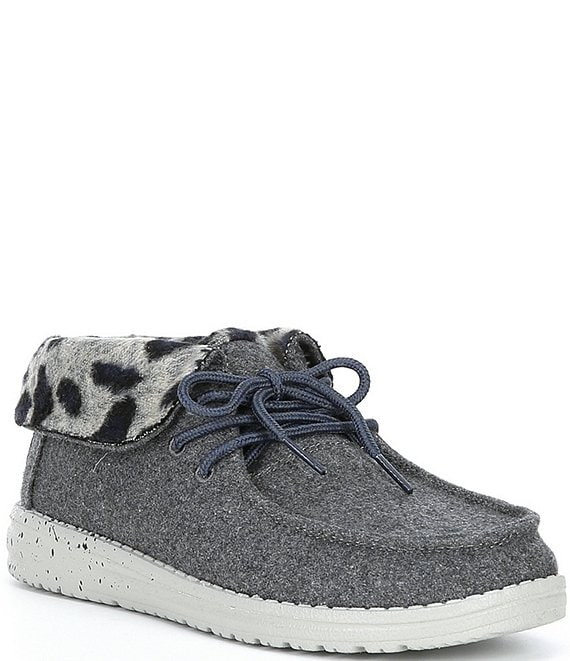 Color:Grey Cheetah - Image 1 - Women's Britt Cheetah Faux-Fur Booties