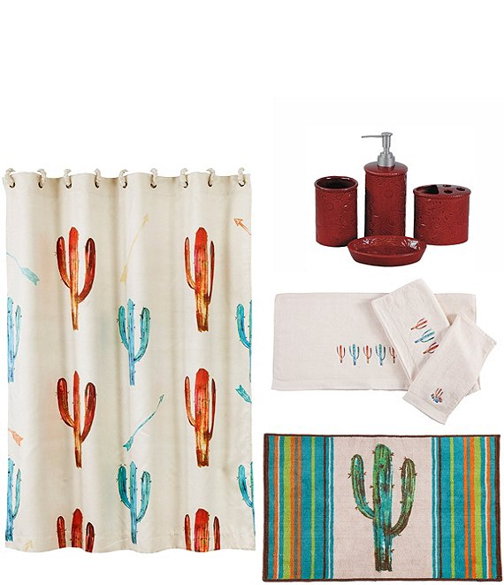 HiEnd Accents Cactus 21-Piece Bath Collection