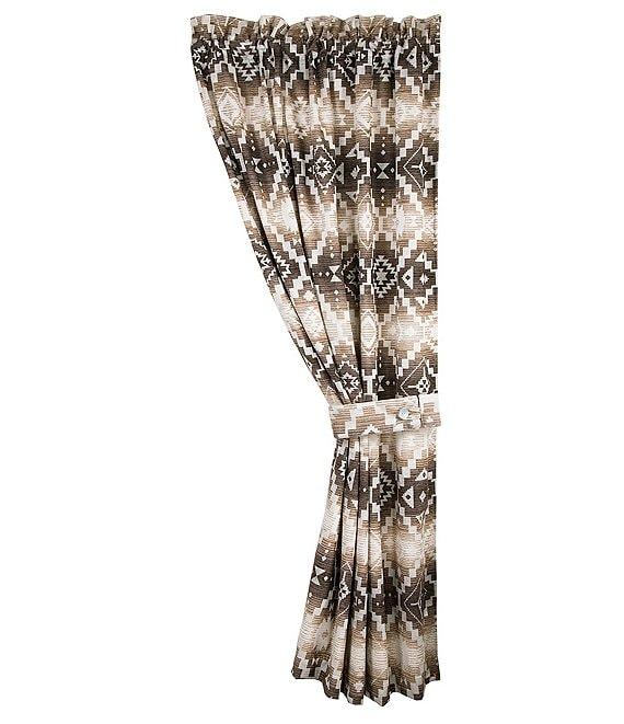 HiEnd Accents Chalet Tribal Curtain