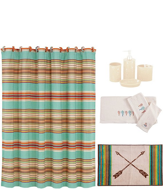 HiEnd Accents Serape Stripe 21-Piece Bath Collection