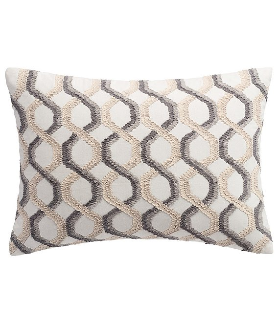 Highline Bedding Co. Habit Ogee Decorative Pillow