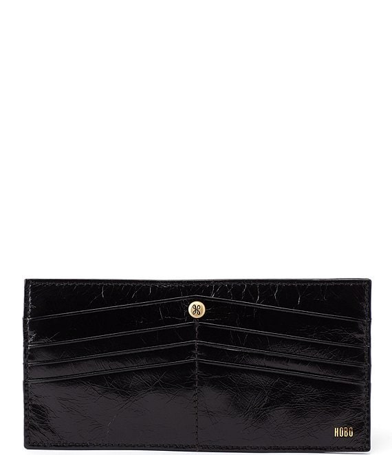 Color:Black - Image 1 - Peak Continental Leather Wallet