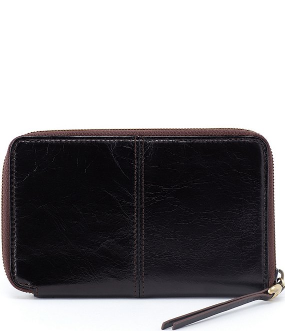 Color:Black - Image 1 - Rave Compact Zip Around Wallet