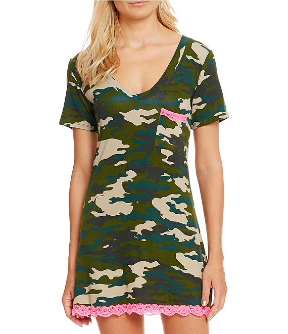 Honeydew Intimates All American Camouflage Sleep Shirt