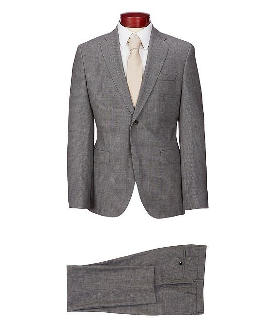 f0841e91d Hugo Boss Jeckson/Lenon Slim Fit Checked Wool Suit | Dillard's
