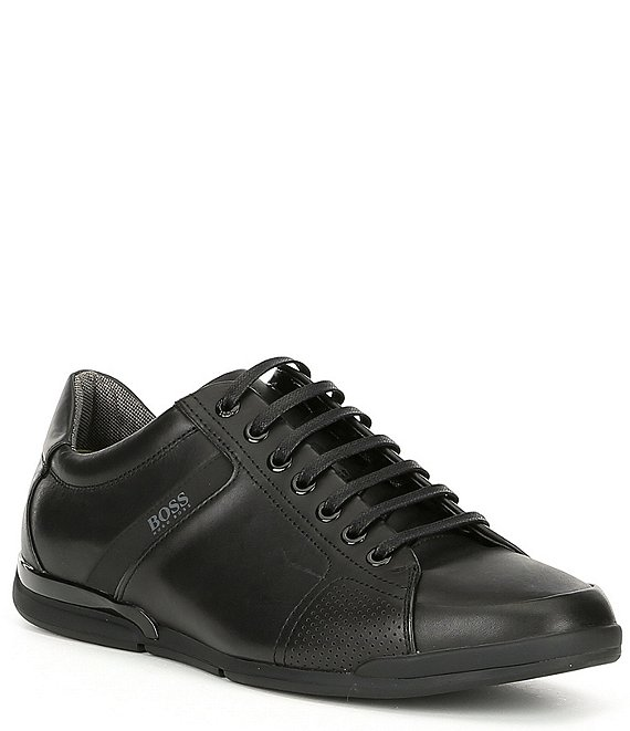 Color:Black - Image 1 - Men's Saturn Low Profile Lux Sneaker