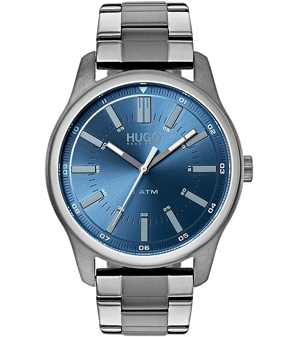 Color:Grey - Image 1 - HUGO HUGO BOSS #Rise Grey Watch