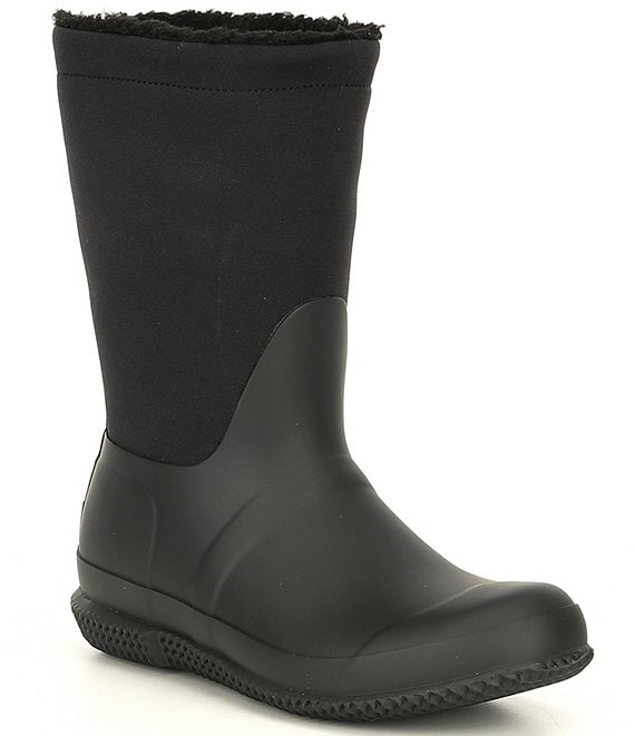 Hunter Boots Short Sherpa Roll Booties