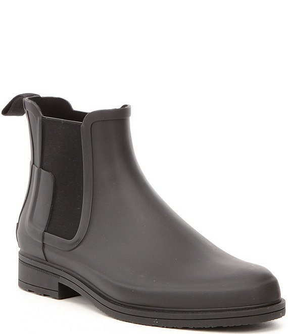 Color:Black - Image 1 - Men's Original Waterproof Refined Chelsea Boots