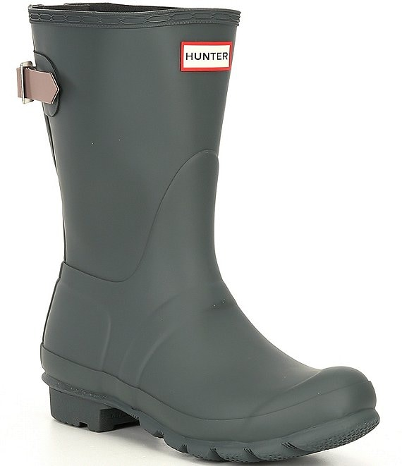 Color:Firth Atlantic - Image 1 - Original Short Adjustable Back Matte Rain Boots