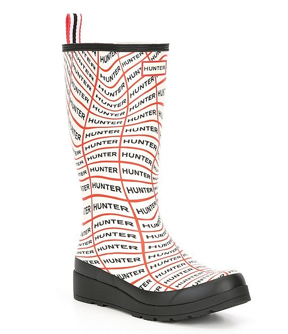 Hunter Play Sonic Logo Tall Rain Boots