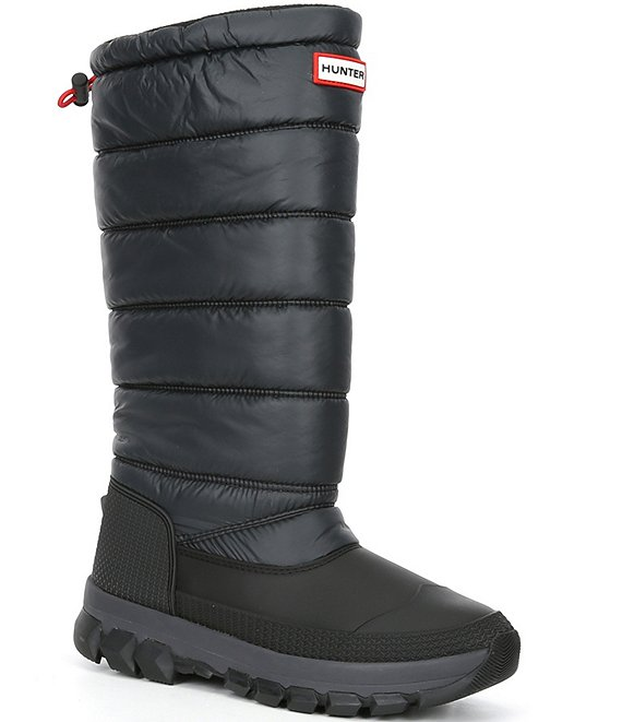 Hunter Women's Tall Insulated Waterproof Quilted Winter Boots