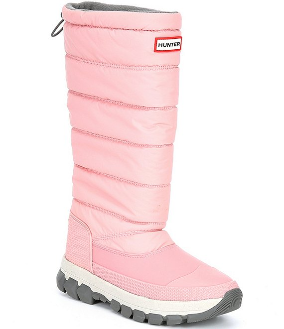 Color:Quartz Pink - Image 1 - Women's Tall Insulated Waterproof Quilted Winter Boots