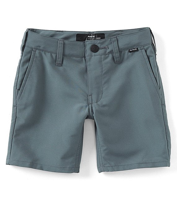 Color:Cool Grey - Image 1 - Little Boys 2T-7 Dri-FIT Chino Walkshorts