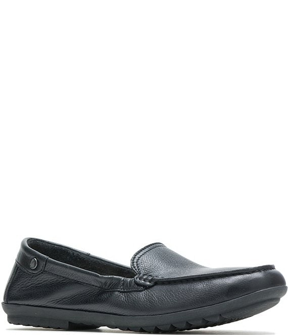 Hush Puppies Aidi Leather Mocc Slip Ons
