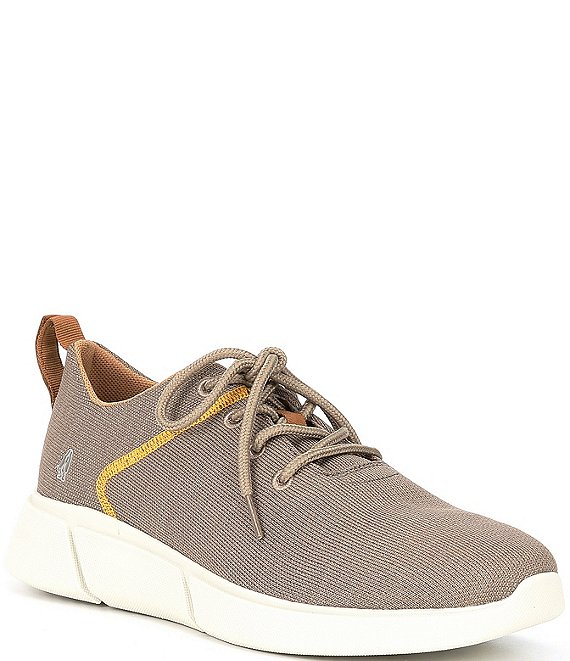 Color:Taupe - Image 1 - Men's Cooper Lace Up Sneakers