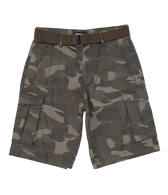 Color:Field Camo - Image 1 - Co. Repo Micro-Ripstop 13#double; Inseam Camo Cargo Shorts
