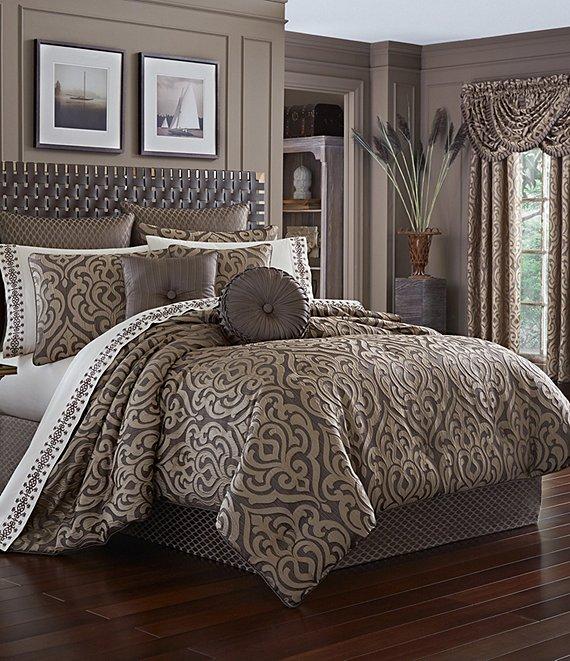 Comforter Sets Queen.J Queen New York Astoria Damask Comforter Set Dillard S