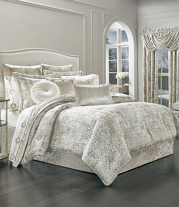J Queen New York Dream Damask Comforter Set Dillard S
