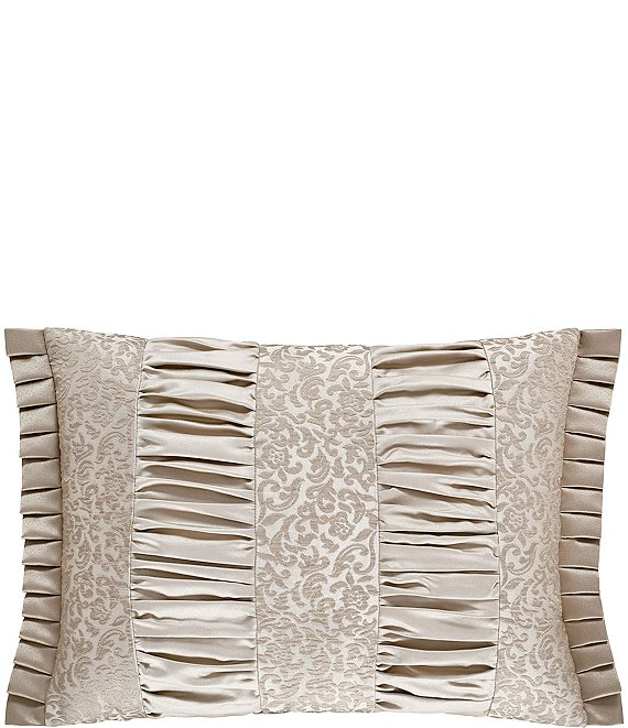 Color:Gold - Image 1 - La Scala Gold Boudoir Pillow