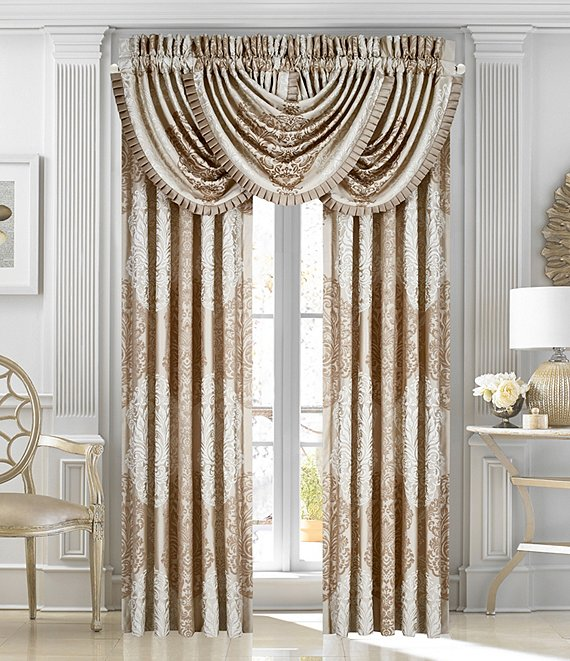 J. Queen New York La Scala Gold Window Treatments