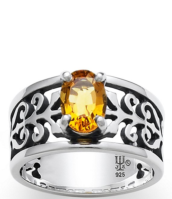 James Avery Adoree Ring with Citrine