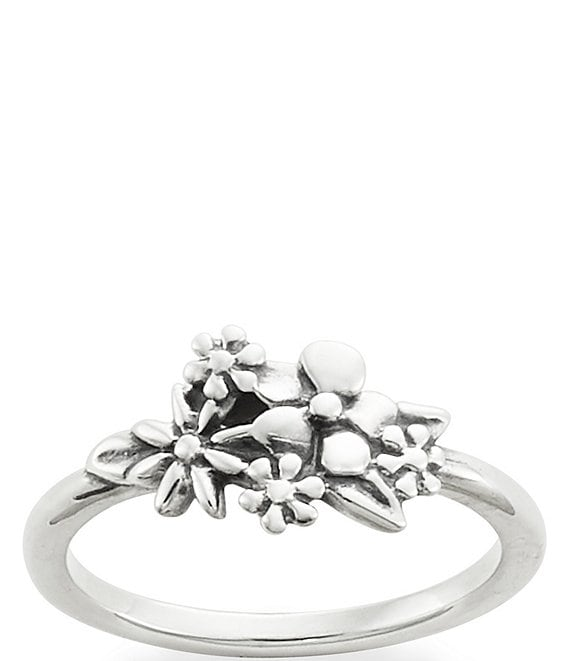 Color:Sterling Silver - Image 1 - Garden Bouquet Ring