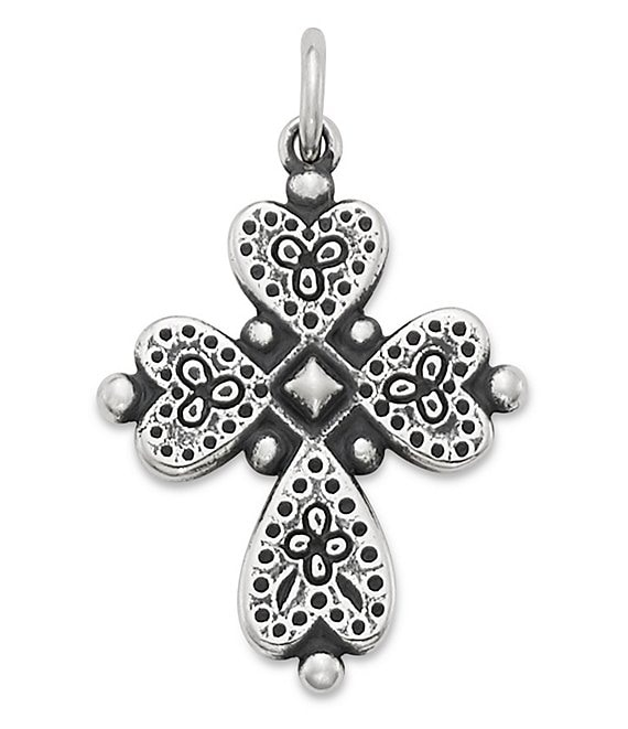 James Avery Hearts Devotion Cross Charm