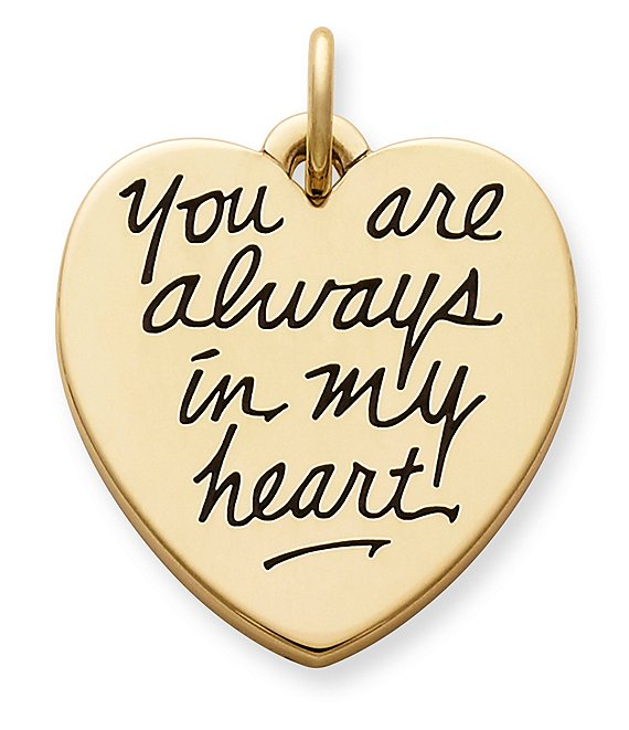 James Avery 14K Jewelry You Are Always in My Heart Charm
