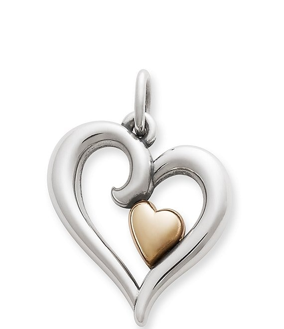 Color:Sterling 14K Gold - Image 1 - Joy of My Heart Small 14K Pendant