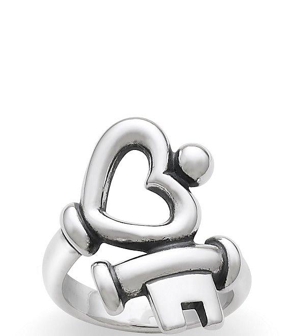 James Avery Key To My Heart Ring Dillard S
