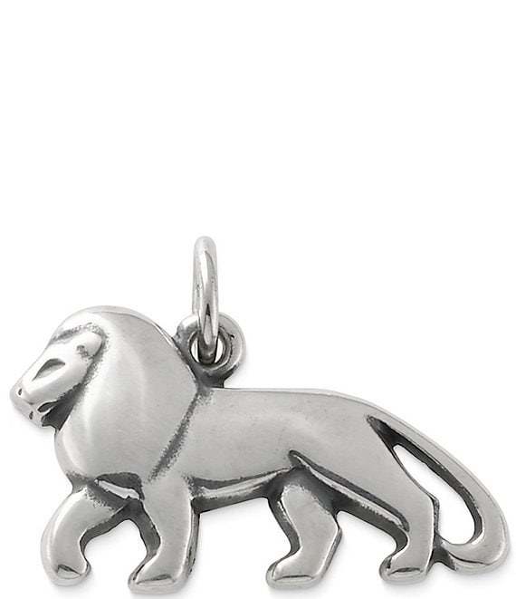 James Avery Lion Sterling Silver Charm
