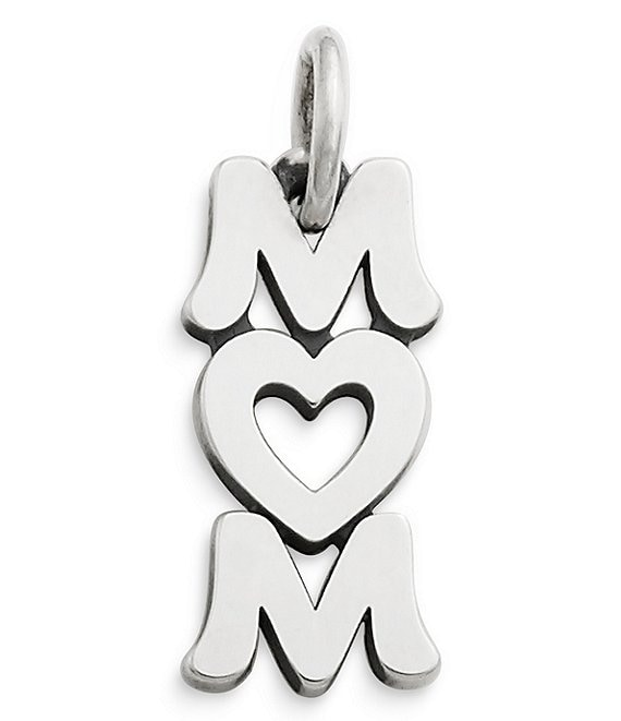 James Avery Love You Mom Sterling Silver Charm