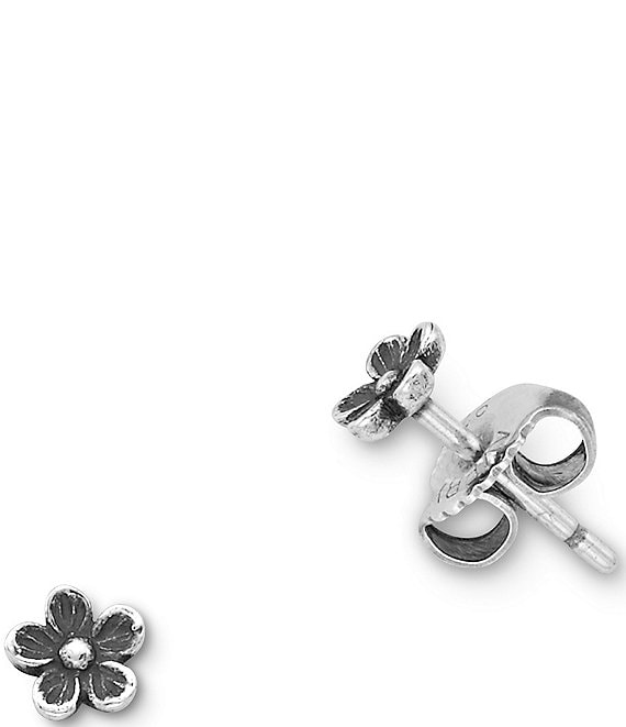 James Avery Mini Flower Ear Posts