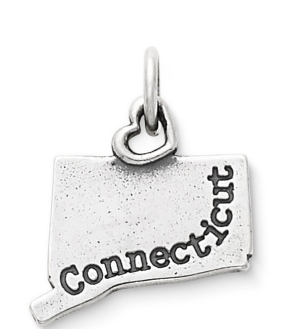 Color:Sterling Silver - Image 1 - My Connecticut Charm