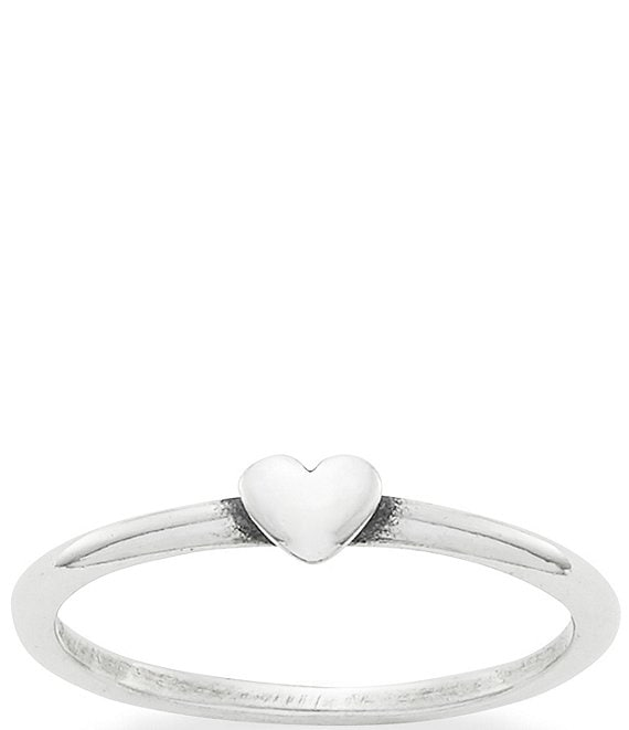 Color:Sterling Silver - Image 1 - Pure Heart Ring