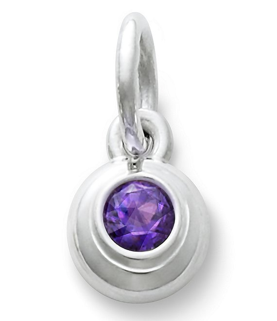 James Avery Remembrance Pendant with Amethyst