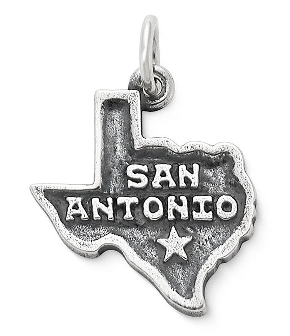 James Avery San Antonio Charm