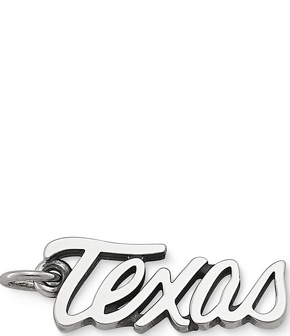 James Avery Script Texas Charm