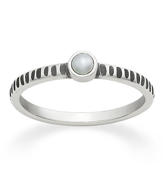James Avery Tiny Freshwater Cultured Pearl Ring
