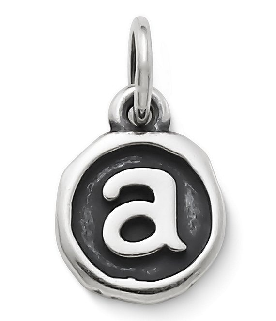 James Avery Vintage Type Initial Charm