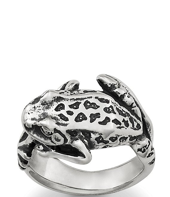 Color:Sterling Silver - Image 1 - Wrap Around Frog Ring