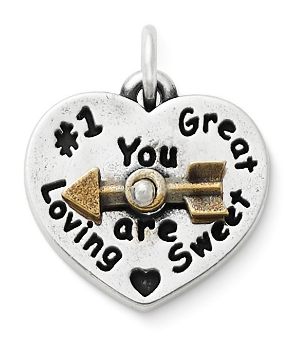 Color:Sterling Bronze - Image 1 - You Are Sweet Spinner Charm