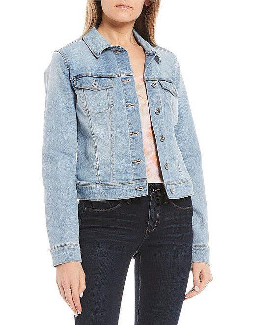 Color:Back Roads - Image 1 - Peony Relaxed Denim Jacket