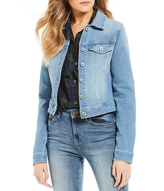 Color:Maude - Image 1 - Pixie Denim Jacket